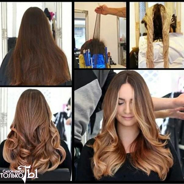 Стоимость покраски волос спб