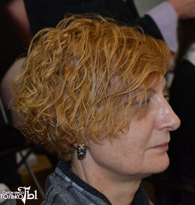 Биозавивка mossa на короткие волосы фото